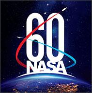 NASA 60th Logo. National Aeronautics and Space Administration 9f1cf3073c